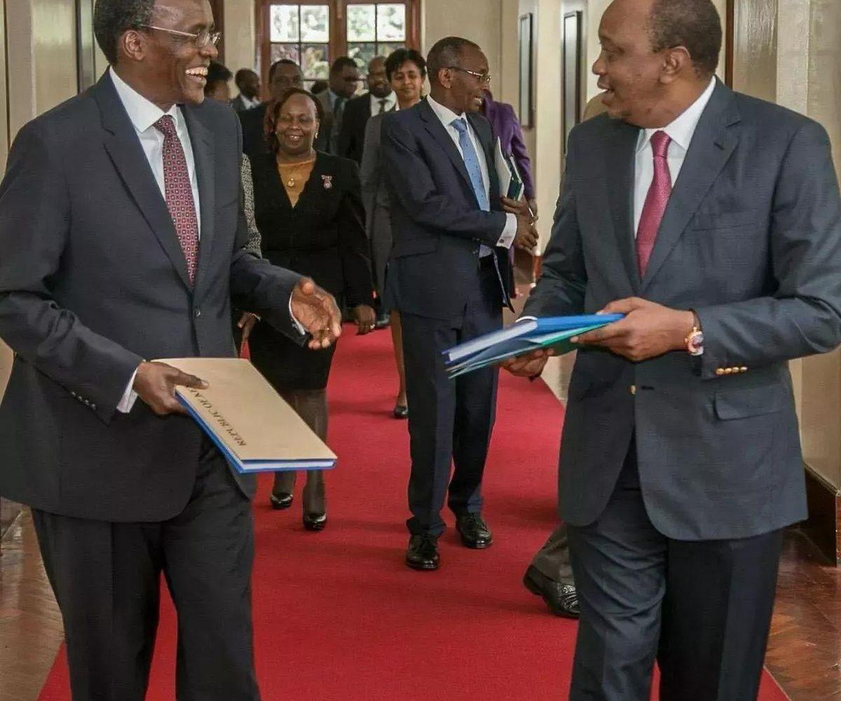 CJ Maraga fault's Uhuru Kenyatta's new executive order