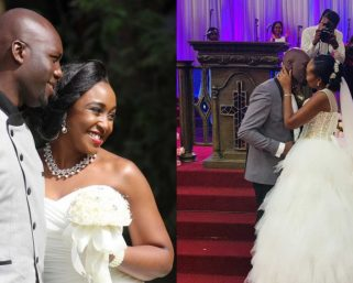 "Co-parents Betty Kyallo and Dennis Okari meet after ""Somali Guy"" drama"