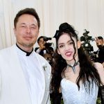 Grimes with Elon Musk