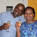Kamotho Waiganjo with Anne Waiguru