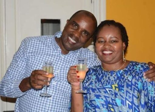 Kamotho Waiganjo with Anne Waiguru