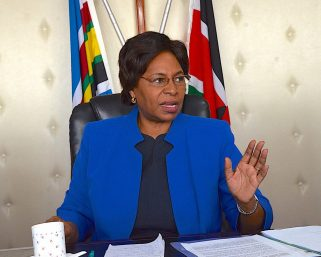 CS Kobia gives her reason for defending Waiguru amid impeachment battle