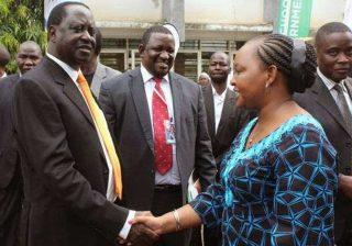 Anne Waiguru was humiliated by Raila Odinga's man