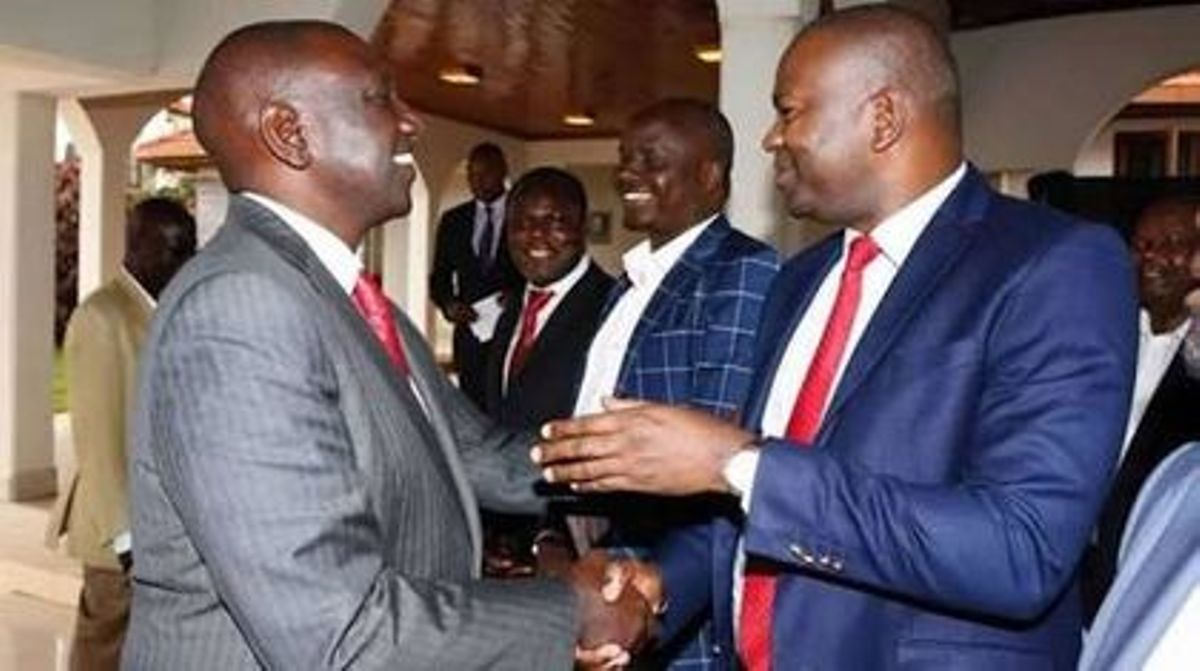 "How can ""General"" Ruto abandon his troops-Rashid Echesa complains"