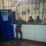 The man at the police station