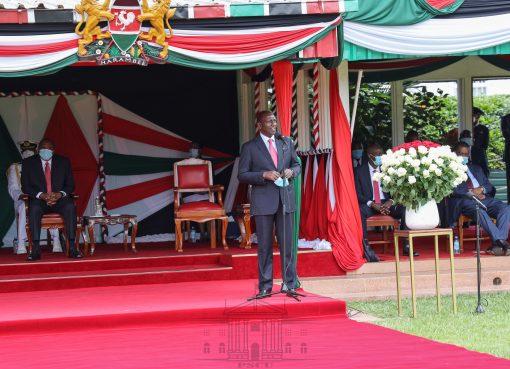 Uhuru Kenyatta with William Ruto