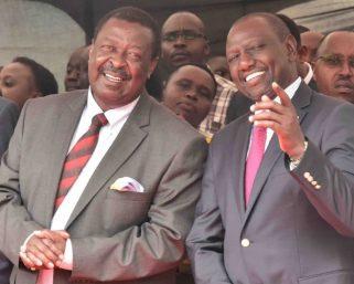 Ruto Steals Mudavadi, Wetangula From Raila