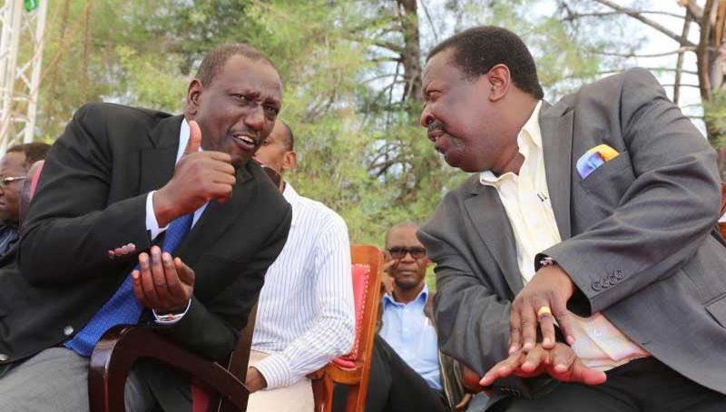 William Ruto and Musalia Mudavadi