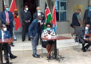 Kalonzo's Wiper Party and Isaac Ruto's CMM Sign Post-Election Agreement With Jubilee
