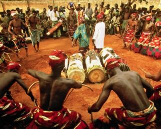 Africans are doing voodoo rituals to curse  police In America