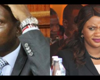 Your Baby Was Not Fathered By Your Lawyer Husband; Moses Kuria Savagely Attack Cate Waruguru