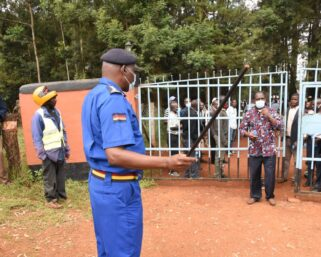 Police Stop Wetang'ula From Having A Meeting In Malava