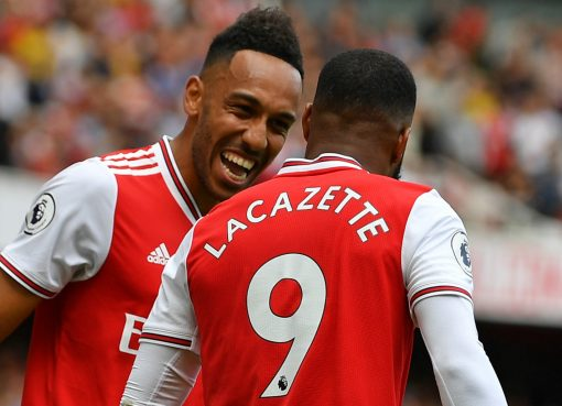 Alexandre Lacazette Urges Teammate, Pierre-Emerick Aubameyang To Sign A New Contract