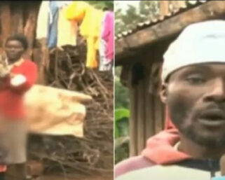 couple in Nyeri ready to give their children away due to poverty