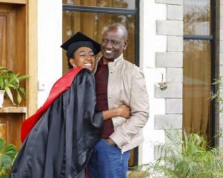 DP William Ruto;My Daughter Refused To Greet Me (Video)