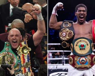Anthony Joshua and Tyson Fury agree to super fight