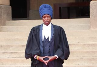 Rastafarian man gets admitted into the bar making history
