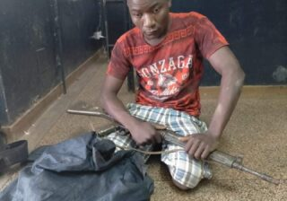 Suspect arrested with a stolen G3 riffle