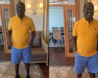 Raila Takes His Dressing Code To Another Level After Surgery