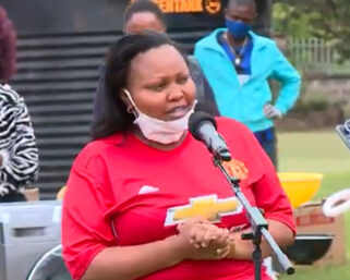 Shock As Senator Millicent Omanga Spotted At DP Ruto's Karen Residence