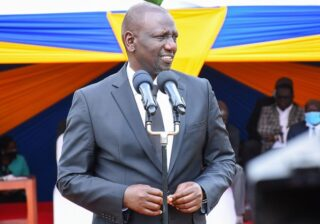William Ruto pledges nobody but him will be President