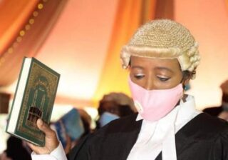 CS Amina Mohammed finally admitted to be an advocate