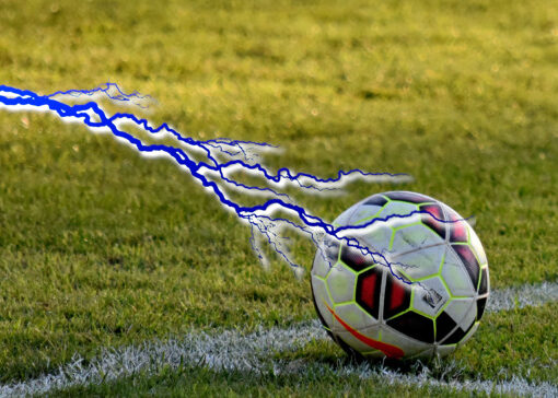 Goalkeeper Struck By Lightning While In Training Session (Video)