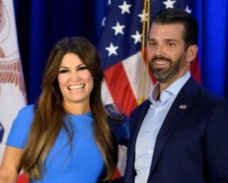 Donald Trump Jr's girlfriend Kimberly Guilfoyle is coronavirus positive