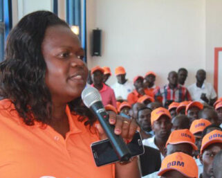 ODM Woman Rep Gladys Wanga makes history in parliament