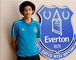 Kenyan star signs professional contract with Everton FC