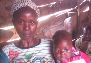 Lady gives birth after allegedly being pregnant for 10 years