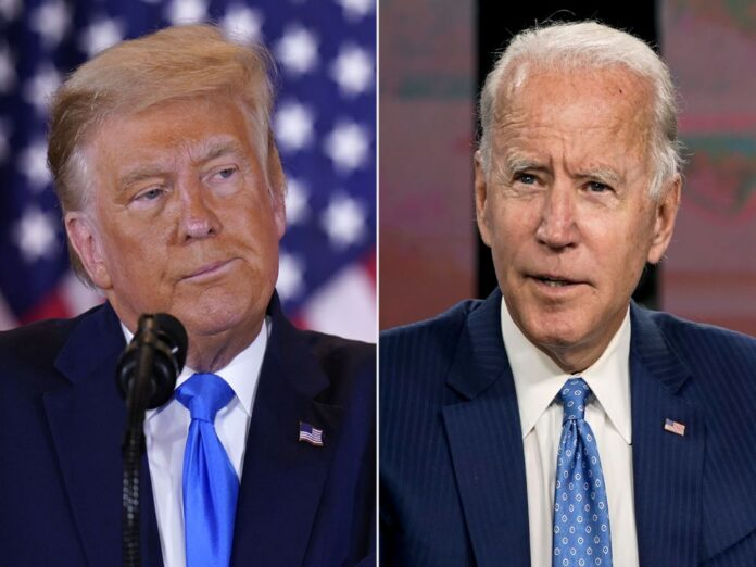 President Trump and Biden