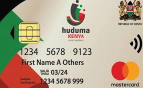 Huduma Number card