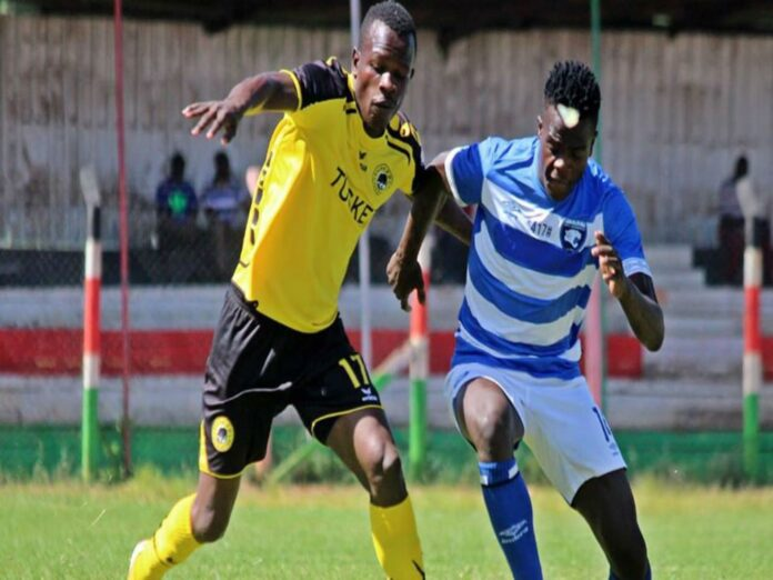 FC Leopards and Tusker Player