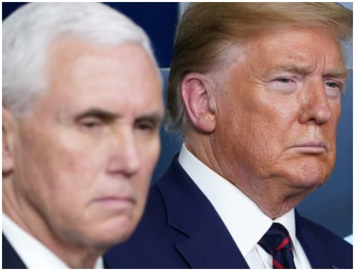 Trump and Mike Pence