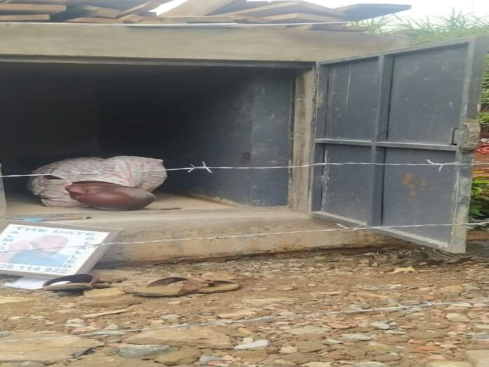 The Murang'a man who dug his own grave