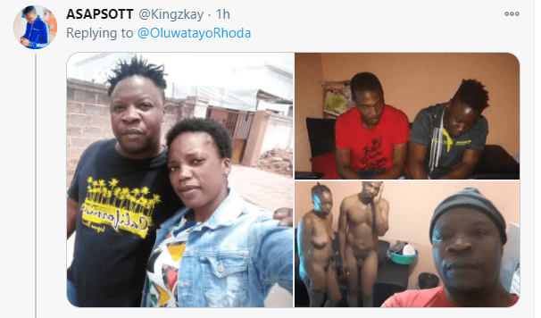 Man Catches Girlfriend Cheating In Bed With Another Man