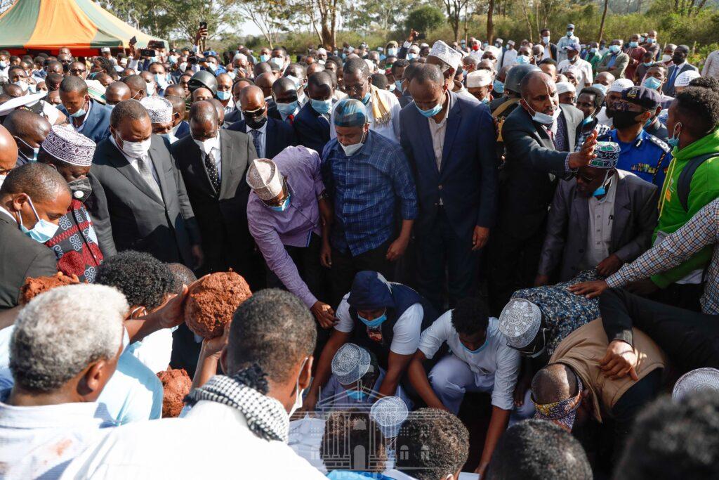 Yusuf Haji Burial