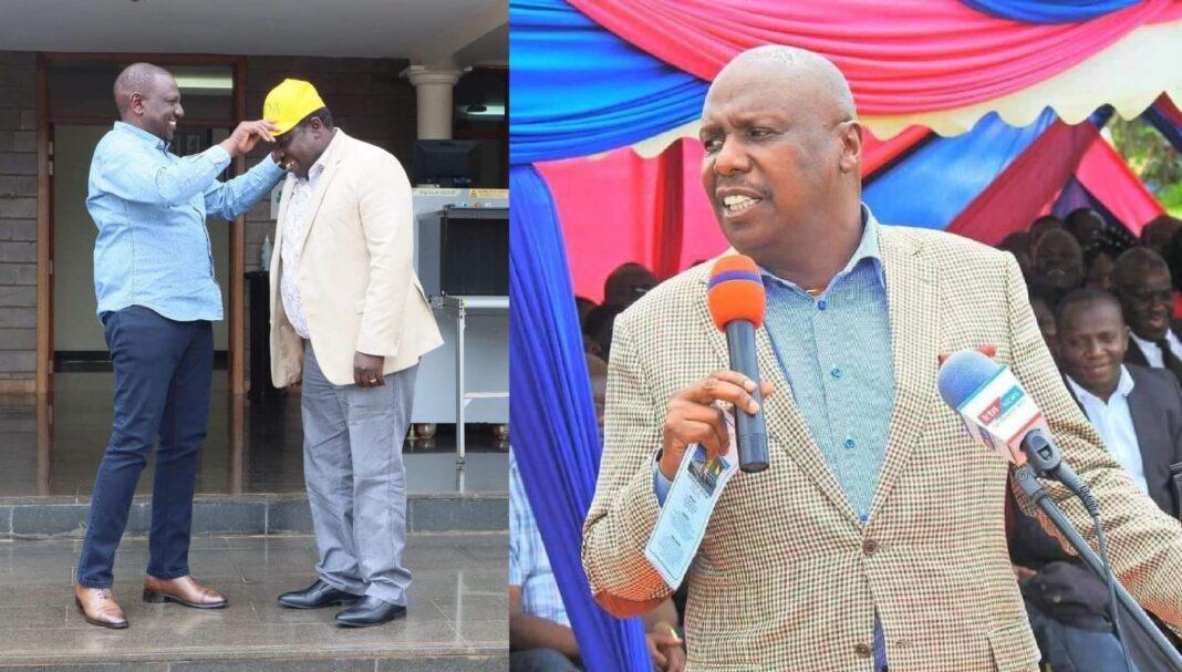 Gideon Moi's Confidant Musa Sirma Dumps Him For DP Ruto