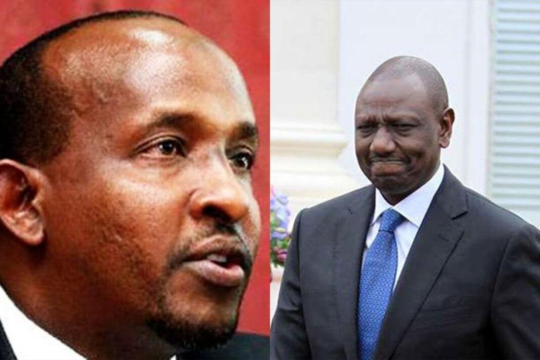 Duale Shocks Ruto, Reveals Why He Can't Trust Him