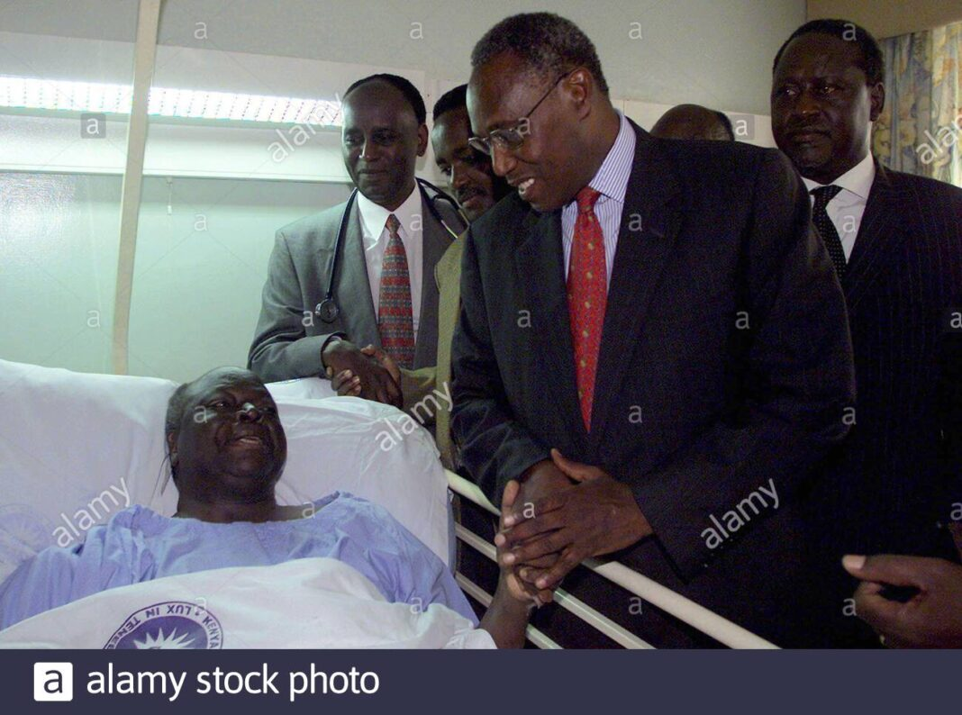 The Day Raila Drove Kibaki In An Ambulance And Stopped Kenya Airways From Airlifting Him To London At The Back Of A Plane