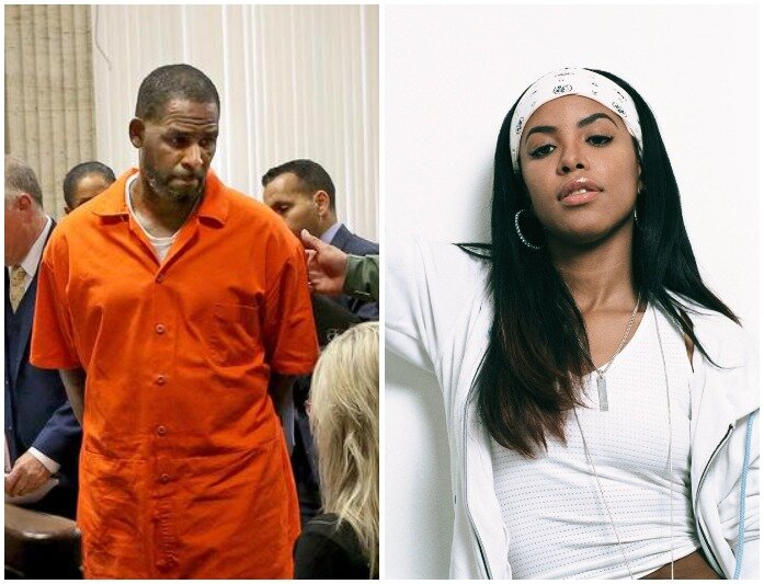Witness Tells Court How He Walked In On R Kelly Performing Oral S3x To Late Singer Aaliyah Who Was On 13 At The Time
