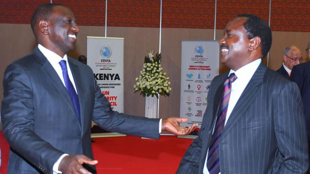 Kalonzo Has The Last Laugh As Ruto Is Caught Up In Land Drama Days After He Accused Him Of Grabbing Yatta Land