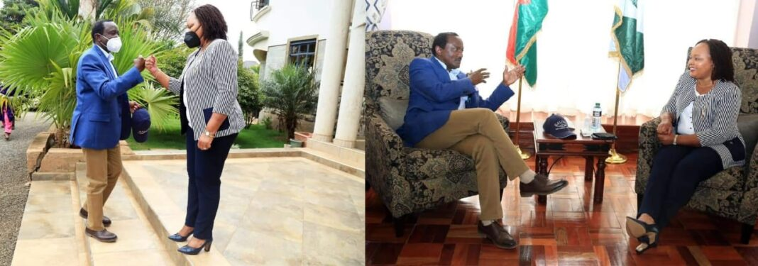 Kalonzo Wins Big As Waiguru Throws Her Weight Behind Him