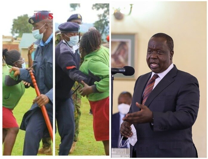 Matiang'i Reaches Out To Con Woman Who Was Roughed Up By His Security Detail