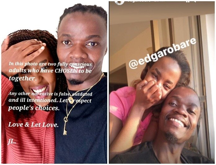 10 Lovely Photos Of Juliani And Lillian Ng'ang'a Who Are No Longer Afraid To Parade Their Love