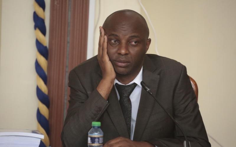 Drama As Senator Kang'ata Attends Senate Meeting From Sabina Joy, Lusaka Blocks Him