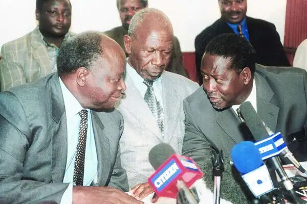 Former VP Moody Awori Reveals Why Raila Turned Down Kibaki's Offer To Be His Vice President
