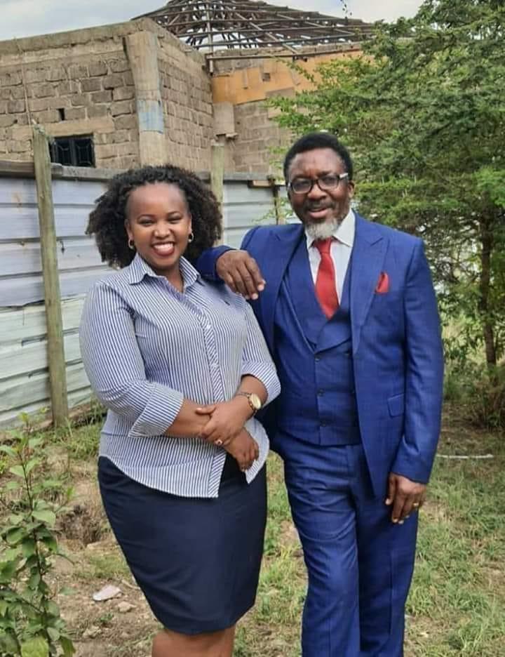 Pastor Ng'ang'a and his wife LoiseMurugi