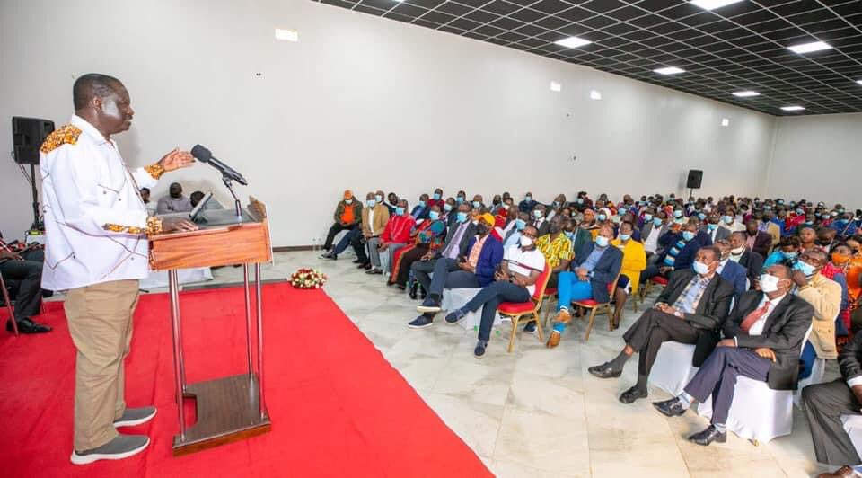 Raila Tells Maasai Leaders Why He Is Still Buying Time Before He Can Announce His Presidential Bid